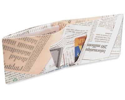 Carteira Dynomighty - Newsprint Mighty Wallet - Interior