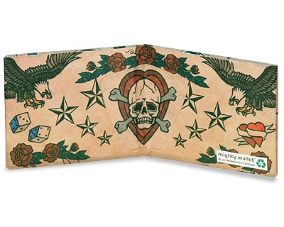Carteira Dynomighty - Tattoo  Wallet Mighty Wallet - Interior
