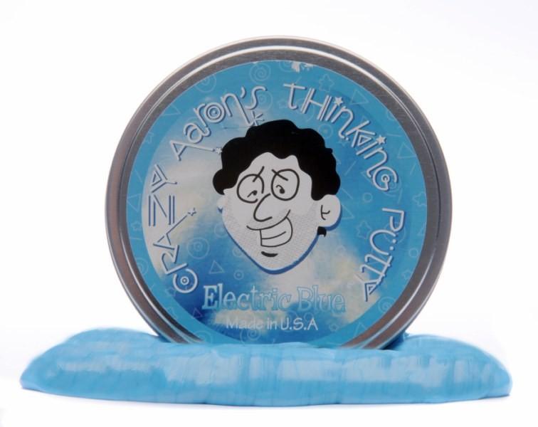 Massinha Thinking Putty Cores Elétricas - Azul Elétrico