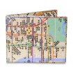 Carteira Mighty Wallet NYC Subway Map by CoolandEco