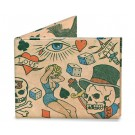 Carteira Dynomighty - Tattoo  Wallet Mighty Wallet - Frente