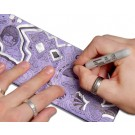 Carteira Dynomighty - Grape Drink DIY Mighty Wallet - Desenhando