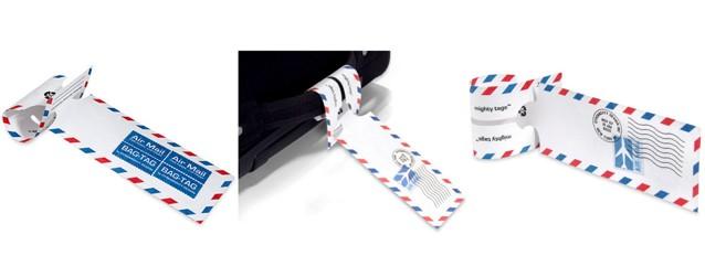 Etiquetas Airmail Mighty Tags